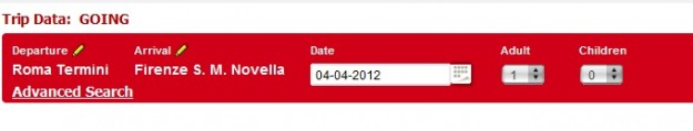 2012 03 26 Trenitalia Website Journey03 625x119 Trenitalia and Booking Online<br>Using the Trenitalia Website   Updated