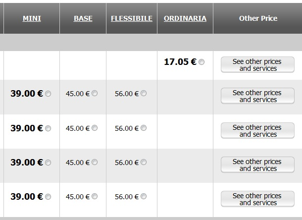 2012 03 26 Trenitalia Website Journey07 Trenitalia and Booking Online<br>Using the Trenitalia Website   Updated
