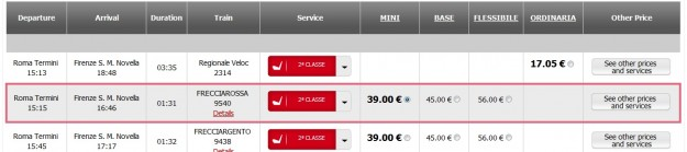 2012 03 26 Trenitalia Website Journey08 625x139 Trenitalia and Booking Online<br>Using the Trenitalia Website   Updated