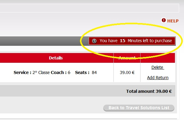 2012 03 26 Trenitalia Website Journey16 Trenitalia and Booking Online<br>Using the Trenitalia Website   Updated