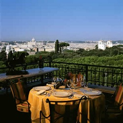 Splendine Rooftop Bars and Restaurants in Rome