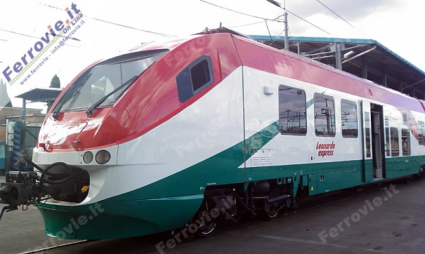 New Leonardo Express Arriving in Rome   Fiumicino (FCO)!