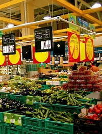 auchan Grocery Stores in Rome