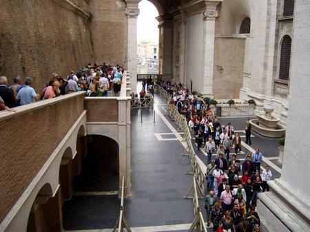 Vatican-line Sistine Chapel