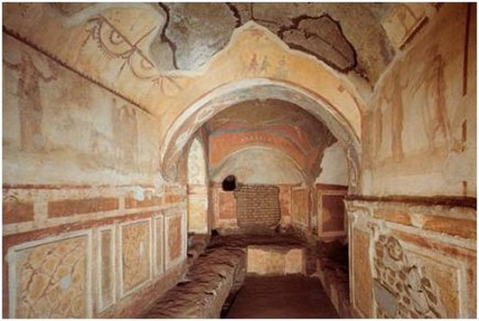 c.priscillacatacombs4 Catacombs of Priscilla