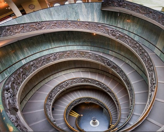 vaticanstairs 2 20 tips on Visiting the Vatican Museums