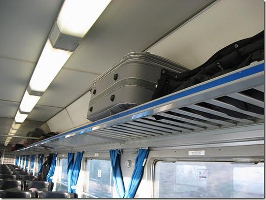 luggage overhead