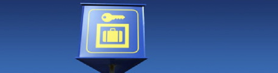 34Header - Left Luggage Sign