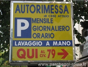 AutorimesseCESE2 thumb1 Parking in Rome!