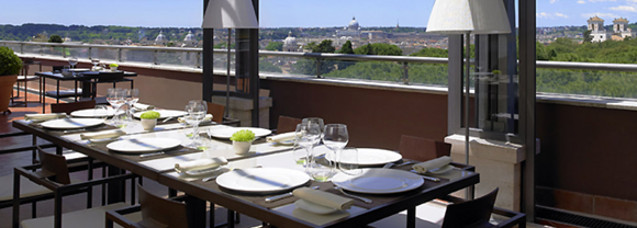 17 La Terrasse Cuisine Lounge01 Rooftop Bars and Restaurants in Rome