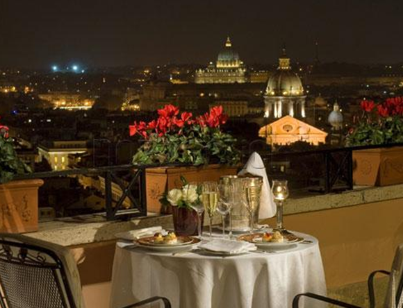 22 Imàgo at the Hassler01 Rooftop Bars and Restaurants in Rome