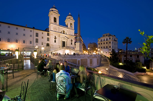 24 Il Palazzetto Restaurant Wine Bar01 Rooftop Bars and Restaurants in Rome