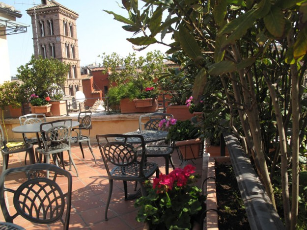 25 Hotel Palamento Rooftop01 625x469 Rooftop Bars and Restaurants in Rome