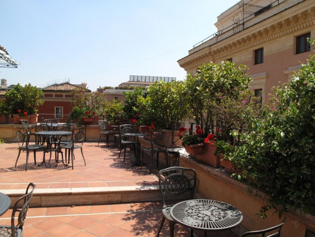 25 Hotel Palamento Rooftop02 625x469 Rooftop Bars and Restaurants in Rome