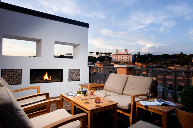 28 Potrait Suites01 625x416 Rooftop Bars and Restaurants in Rome
