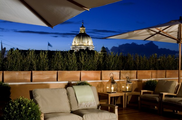 28 Potrait Suites04 625x411 Rooftop Bars and Restaurants in Rome