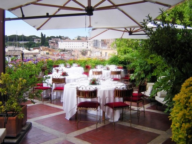 29 Grand Plaza02 625x468 Rooftop Bars and Restaurants in Rome