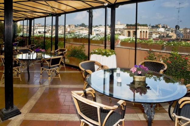 29 Grand Plaza03 625x416 Rooftop Bars and Restaurants in Rome