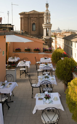 33Hotel Concordia01 Rooftop Bars and Restaurants in Rome