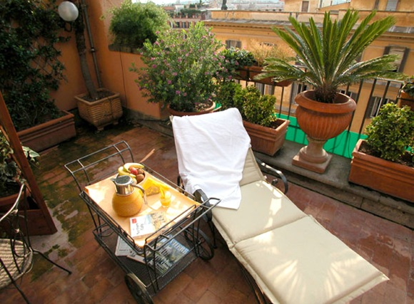 34 Hotel Scalinata02 Rooftop Bars and Restaurants in Rome