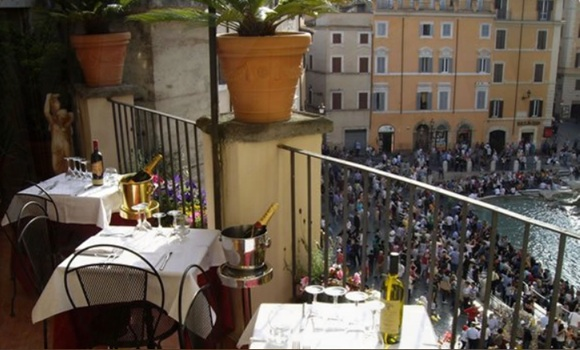 41 Relais Fontana Di Trevi01 Rooftop Bars and Restaurants in Rome