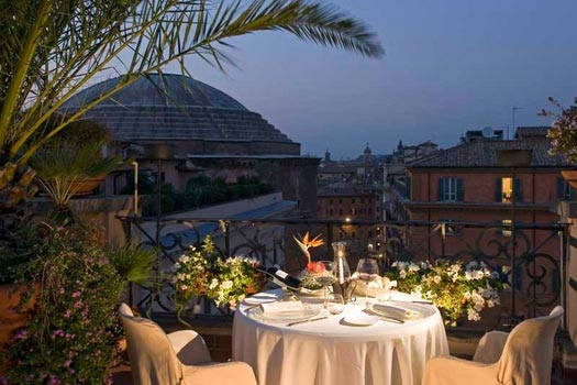42 La Minerva01 Rooftop Bars and Restaurants in Rome