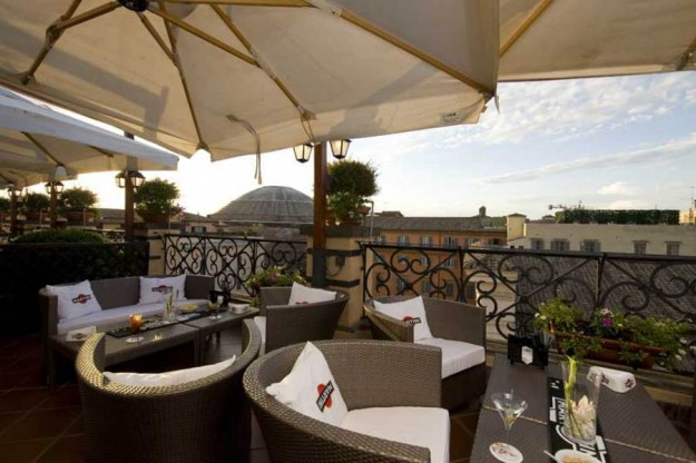 42 La Minerva02 625x416 Rooftop Bars and Restaurants in Rome
