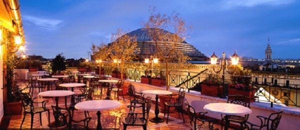 43 Albergo Senato02 Rooftop Bars and Restaurants in Rome
