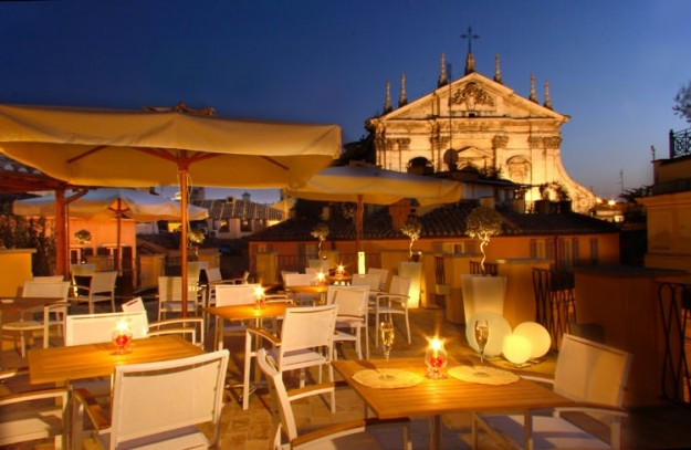 44 Cesàri's Terrace01 625x407 Rooftop Bars and Restaurants in Rome