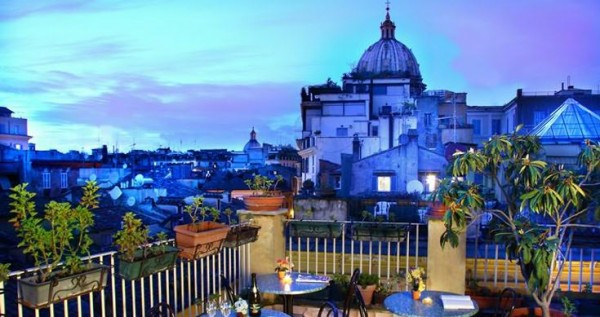 45 Hotel Smeraldo02 600x317 Rooftop Bars and Restaurants in Rome