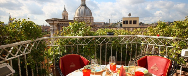 46 Terrace Bramante03 Rooftop Bars and Restaurants in Rome