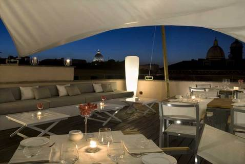 48 La Terazza Rose01 Rooftop Bars and Restaurants in Rome