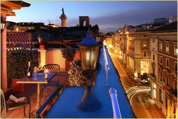 49 Hotel Regno02 Rooftop Bars and Restaurants in Rome