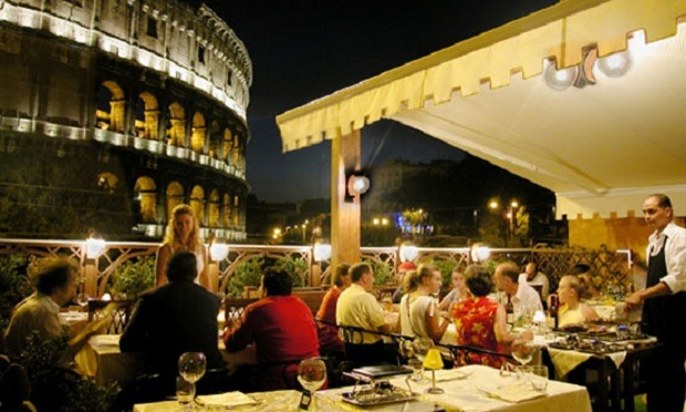 5 La Terrazza dell'Albergo01 Rooftop Bars and Restaurants in Rome