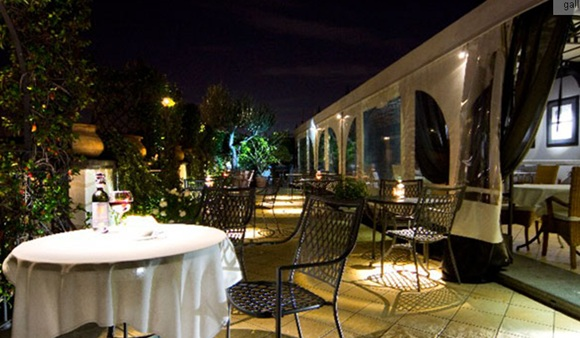 55The Hotel Isa01 Rooftop Bars and Restaurants in Rome
