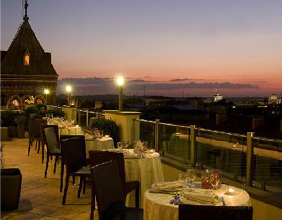 71 Roof Garden – La Griffe Hotel02 Rooftop Bars and Restaurants in Rome