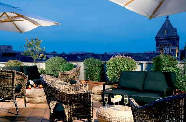 73 Roof Terrace at Hotel Artemide02 Rooftop Bars and Restaurants in Rome