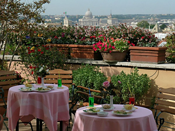 74 Roof Bar Terrace03 600x450 Rooftop Bars and Restaurants in Rome