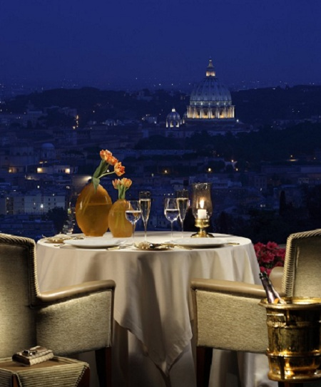 80 La Pergola02 Rooftop Bars and Restaurants in Rome