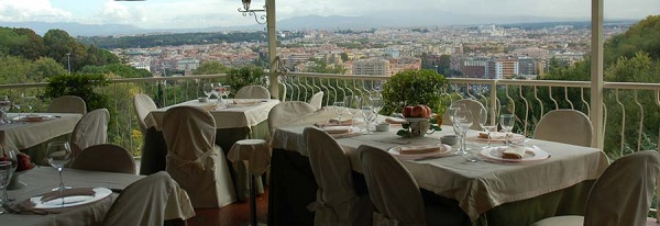 81 Ristorante The View01 Rooftop Bars and Restaurants in Rome