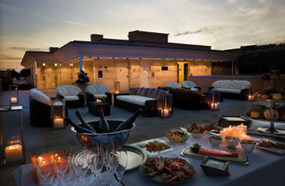 9 Grand Hotel Via Veneto Roof Garden01 Rooftop Bars and Restaurants in Rome