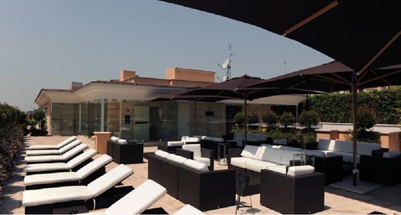 9 Grand Hotel Via Veneto Roof Garden02 Rooftop Bars and Restaurants in Rome