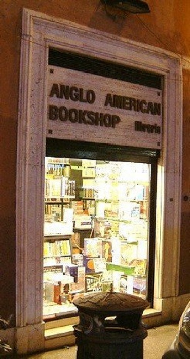 Book2 Anglo English Bookstores in Rome