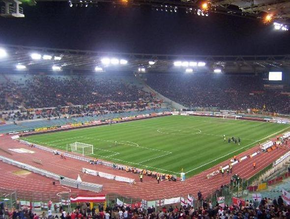 Olympic StadiumRome4 Futbol in Rome