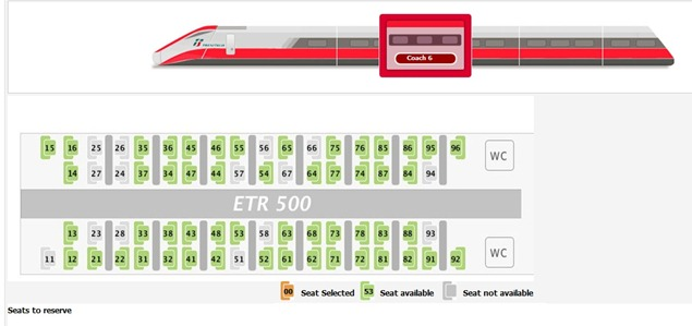 Trenitaliawebpage22 thumb  Booking on the Trenitalia Website