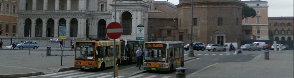 104Header - 117 bus San Giovani Laterano