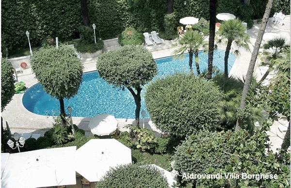 Aldrovandi Rome Hotels With Pools