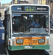 BUS 117 Picture1 Bus 117 to Piazza San Giovanni in Laterano