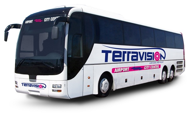 Terravision PULLMAN NUOVO resized to 620 Terravision Back at FCO