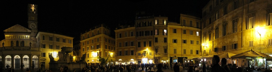 114 Header - Trastevere at night